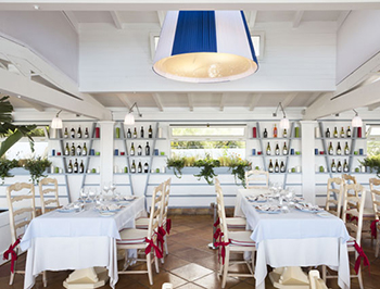 Cavallo Island Luxury Hotel Restaurant