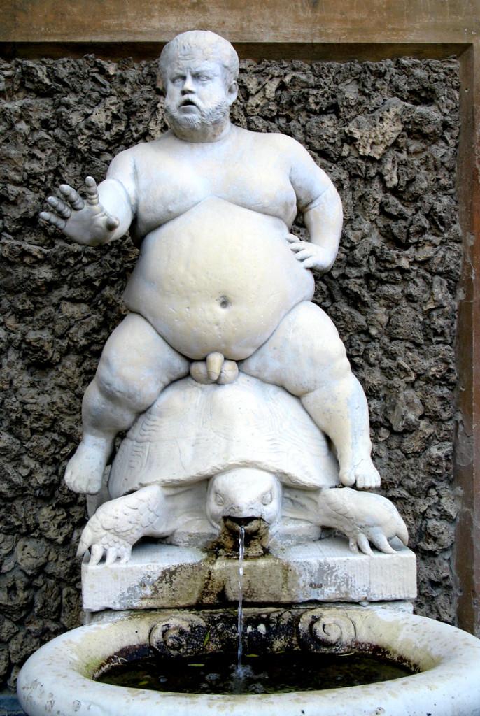 Bacchino fontain boboli